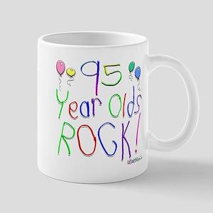 95 Year Olds Rock ! Mug