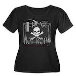 pirate hot rods Women's Plus Size Scoop Neck Dark