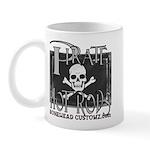 pirate hot rods Mug