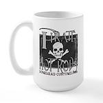pirate hot rods Large Mug