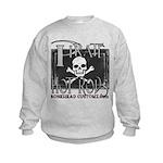 pirate hot rods Kids Sweatshirt