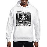 pirate hot rods Hooded Sweatshirt