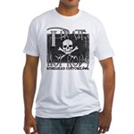 pirate hot rods Fitted T-Shirt