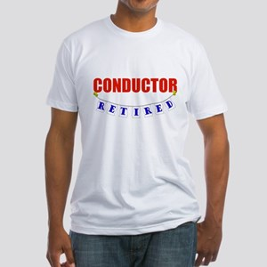 Retired Conductor Fitted T-Shirt