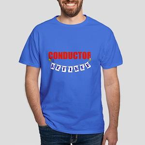 Retired Conductor Dark T-Shirt