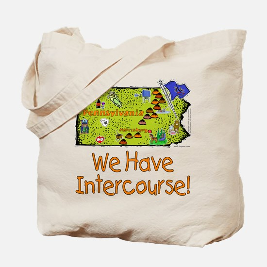PA-Intercourse! Tote Bag