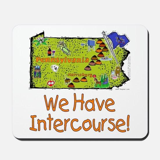 PA-Intercourse! Mousepad