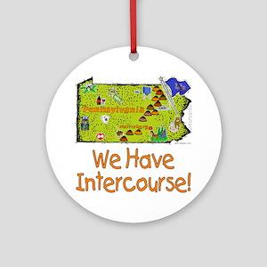 PA-Intercourse! Ornament (Round)