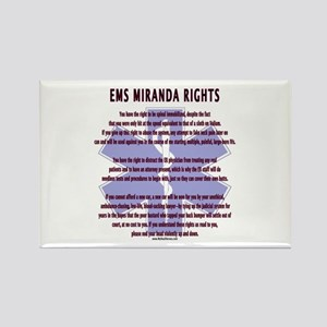 EMS Miranda Rights Gifts Rectangle Magnet