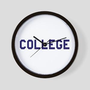 College Wall Clock