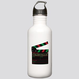 Christmas Clapper Boar Stainless Water Bottle 1.0L