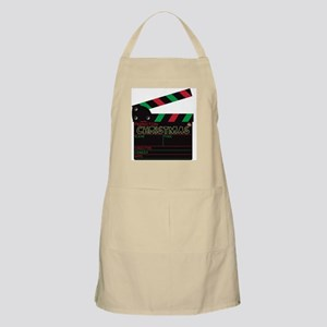 Christmas Clapper Board Light Apron