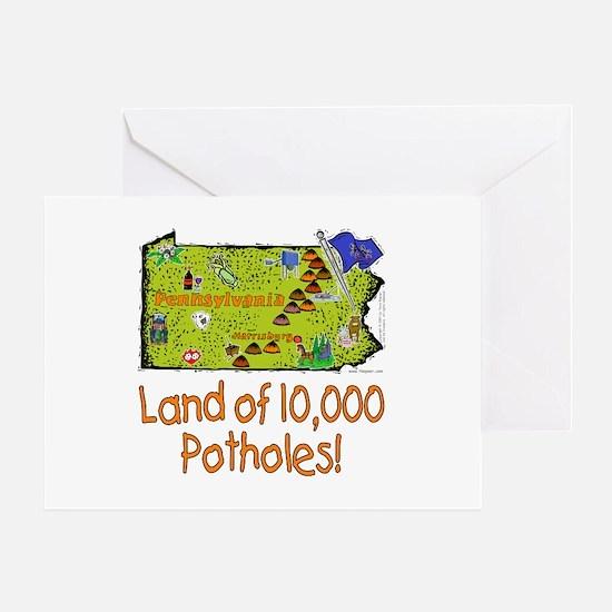 PA-Potholes! Greeting Card