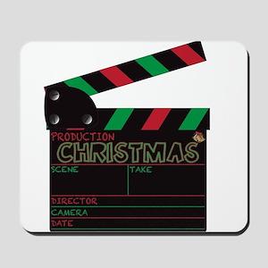 Christmas Clapper Board Mousepad