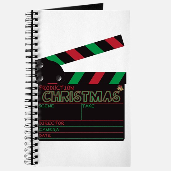 Christmas Clapper Board Journal