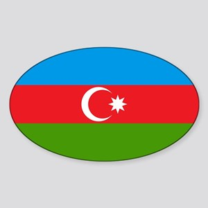 Azerbaijan Oval Sticker