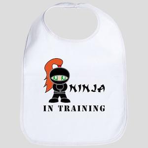 Redhead Ninja In Training Bib