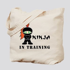 Redhead Ninja In Training Tote Bag