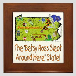 PA-Betsy! Framed Tile