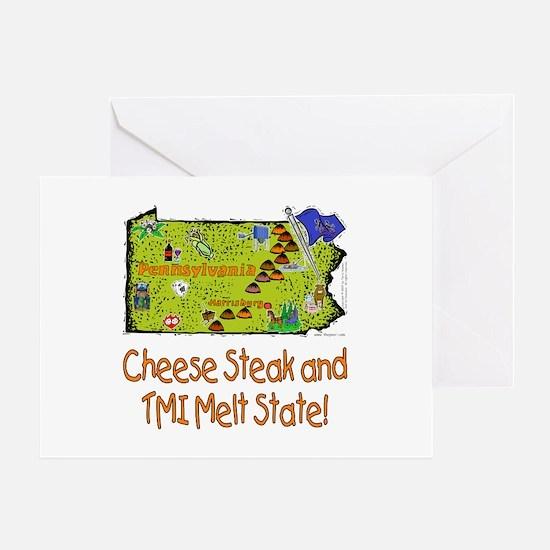 PA-Melt! Greeting Card