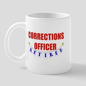 Retired Corrections Officer Mug