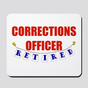 Retired Corrections Officer Mousepad