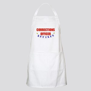 Retired Corrections Officer BBQ Apron