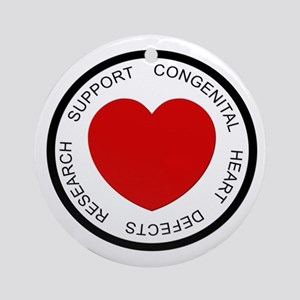 CHD SUPPORT Ornament (Round)