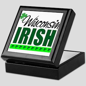 Wisconsin Irish Keepsake Box