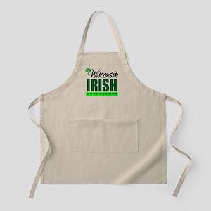 Wisconsin Irish BBQ Apron