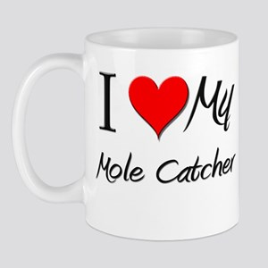 I Heart My Mole Catcher Mug