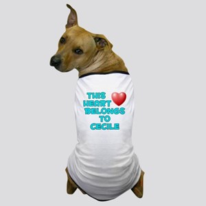 This Heart: Cecile (E) Dog T-Shirt