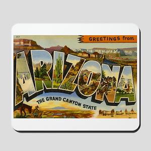 Greetings from Arizona Mousepad