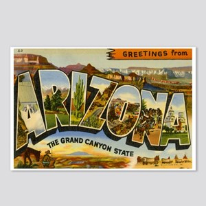 Greetings from Arizona Postcards (Package of 8)