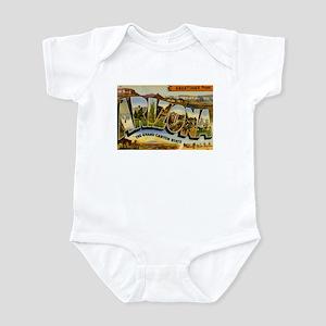 Greetings from Arizona Infant Bodysuit