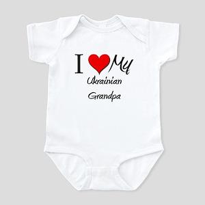 I Love My Ukrainian Grandpa Infant Bodysuit