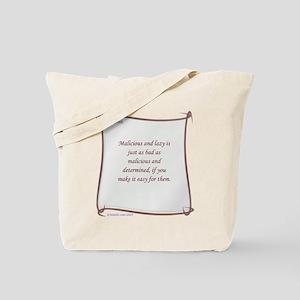 Malicious Tote Bag