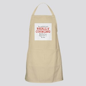 You May Think You're Really C BBQ Apron