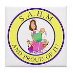 SAHM Tile Coaster