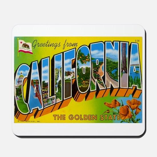 Greetings from California I Mousepad
