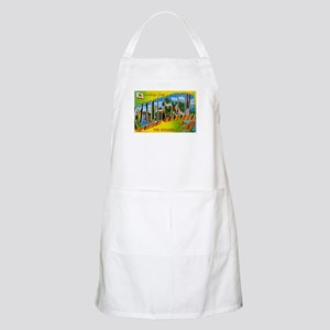 Greetings from California I BBQ Apron