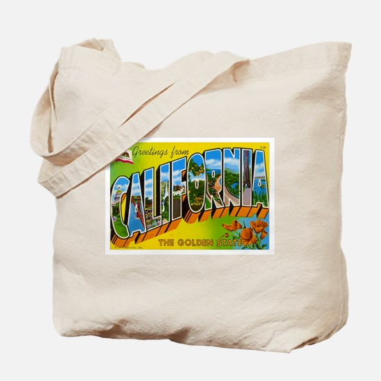 Greetings from California I Tote Bag