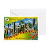 California pride Greeting Cards
