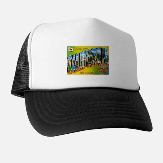 Greetings from California I Trucker Hat