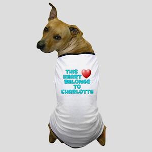 This Heart: Charlotte (E) Dog T-Shirt