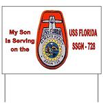USS Florida Custom Yard Sign