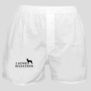 I Love Beauceron Boxer Shorts