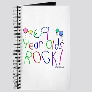 69 Year Olds Rock ! Journal
