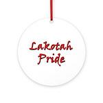 Lakotah Pride Ornament (Round)