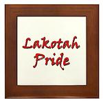 Lakotah Pride Framed Tile